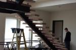Under New Wooden Stairs